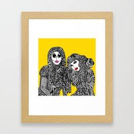 UNHhhh Framed Art Print