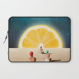 Desert Moonlight Meditation Laptop Sleeve