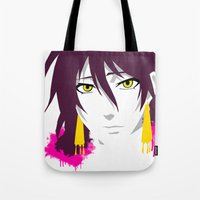 prince Tote Bags featuring Prince by Kellie Anne