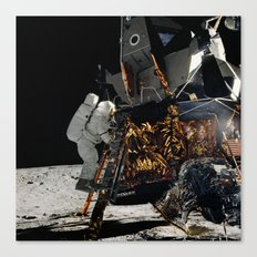 NASA Apollo 12 Lunar Module Space Craft - Astronaut Alan L. Bean 1969 Print Canvas Print