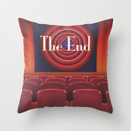 At the movies Throw Pillow