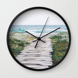 Path to my Heart Wall Clock