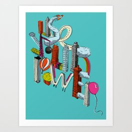 Use Your Power Art Print