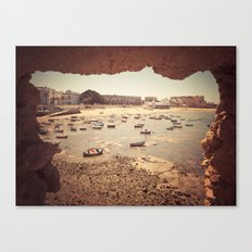 Fortress in Cadiz, Spain Canvas Print