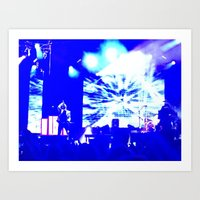 panic at the disco Art Prints featuring Charlotte Panic! At The Disco by Melissa Mabe