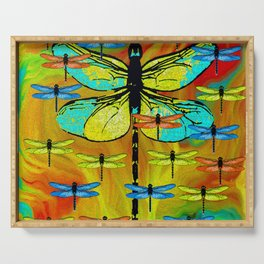 DRAGONFLY FORMATION Serving Tray