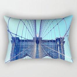 BROOKLYN BRIDGE - LIGHTER Rectangular Pillow