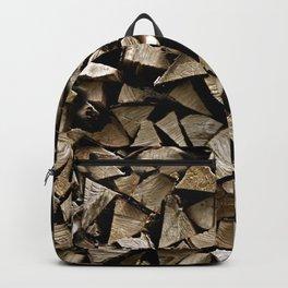 firewood pattern Backpack