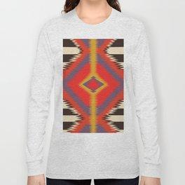 American Native Pattern No. 87 Long Sleeve T-shirt