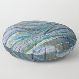 The Colors of the Ocean Floor Pillow