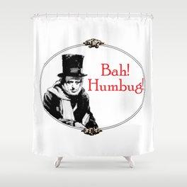 Bah! Humbug! Shower Curtain