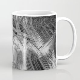 St Patrick's Cathedral New York Art Coffee Mug