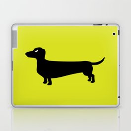 Angry Animals: Dachshund Laptop & iPad Skin