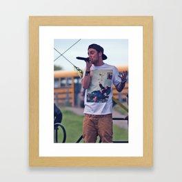 Mac Miller Framed Art Print