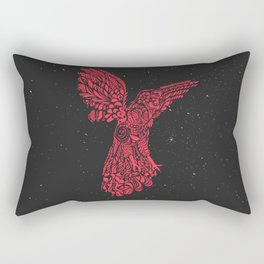 Gallito de las rocas peruvian bird red version by #Bizzartino Rectangular Pillow