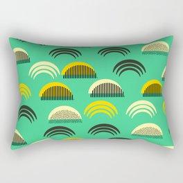 Decor semicircles Rectangular Pillow