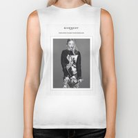 givenchy Biker Tanks featuring Givenchy Paris by CHESSOrdinary