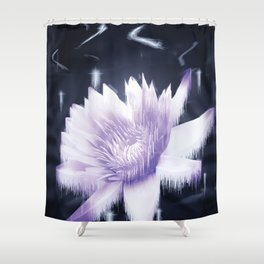 Particle Arts Shower Curtain
