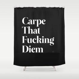 Carpe Shower Curtain