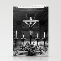 jesus Stationery Cards featuring Jesus by Mauro Squiz Daviddi