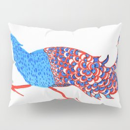 Evil eyed peacock Pillow Sham