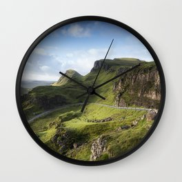 The Road to the Quiraing II Wall Clock