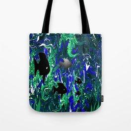 Turmoil in our seas.. Tote Bag