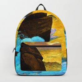 Georges Lacombe Golden Wave Backpack