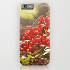 Red Berries iPhone 6s Slim Case
