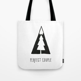 Perfect couple Tote Bag
