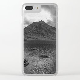 Tryfan Mountain Clear iPhone Case