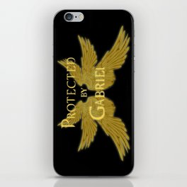 Protected by Gabriel iPhone Skin