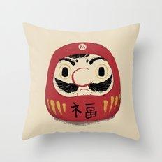 darumario Throw Pillow