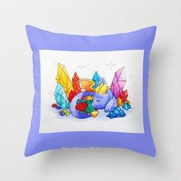 Spyro's Nap Throw Pillow