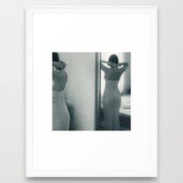 luck be a lady Framed Art Print