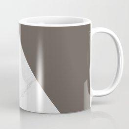 Marble vs Brown Granite Coffee Mug