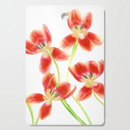 Tulip Love Cutting Board