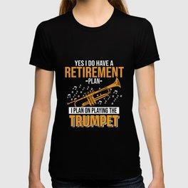 Trumpet Musician Musical Instrument Trumpeter Jazz T-shirt