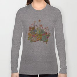 cactus garden Long Sleeve T-shirt