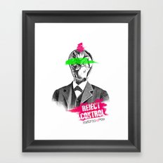 Reject Control Framed Art Print