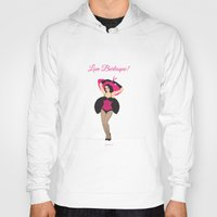 burlesque Hoodies featuring Burlesque Girl by Sabi Koz