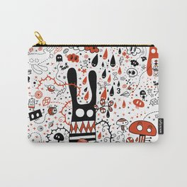 Choose a Hole - Doodle Carry-All Pouch