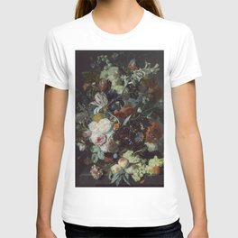 Jan van Huysum Still Life with Flowers and Fruit T-shirt