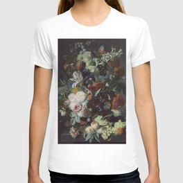 Jan van Huysum Still Life with Flowers and Fruit T-shirt