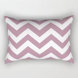 English lavender - violet color - Zigzag Chevron Pattern Rectangular Pillow
