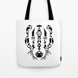 Tribal Badger Tote Bag