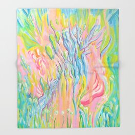 Planta 01 Throw Blanket