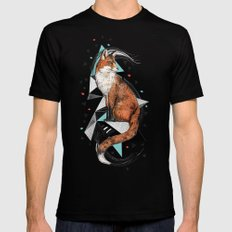 Foa the Fox 2X-LARGE Mens Fitted Tee Black