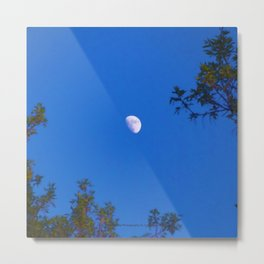 The Moon (At Dusk) - Jeronimo Rubio Photography 2016 Metal Print