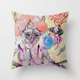 o hey Throw Pillow